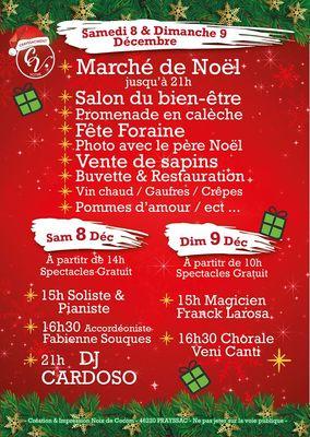 8-9 déc Marché Noël Crayssac2