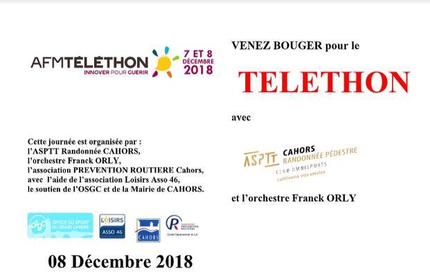 8 déc Téléthon Cahors