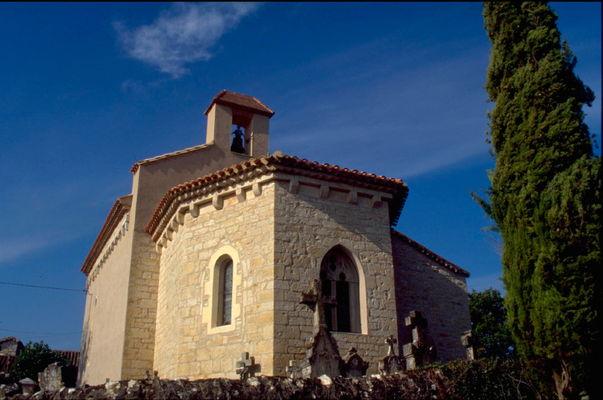 Labastide Marnhac : Eglise Romane de Salgues