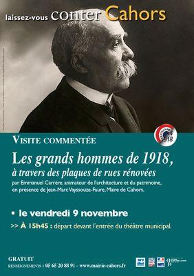 9 nov LVC Visite 1918