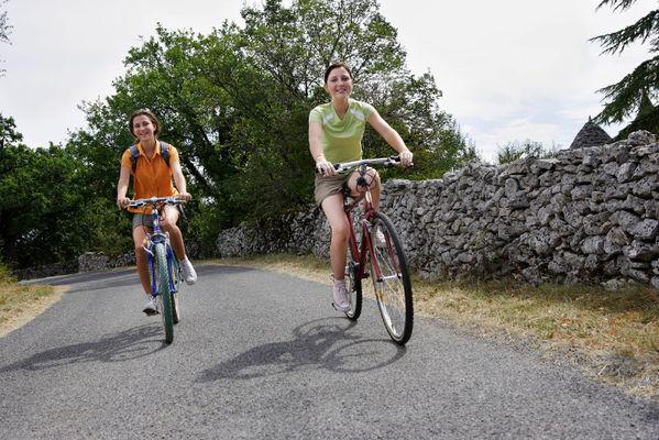 Cyclotourisme sur le Causse
