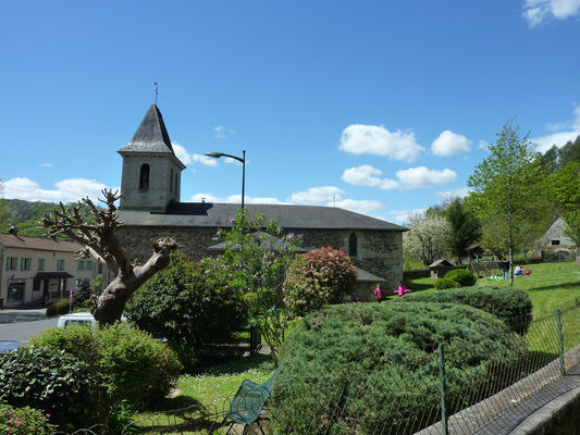 Latouille - Lentillac - Eglise_17 © Lot Tourisme - C. Sanchez