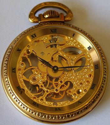 Musée des vieilles horloges - Montre squelette