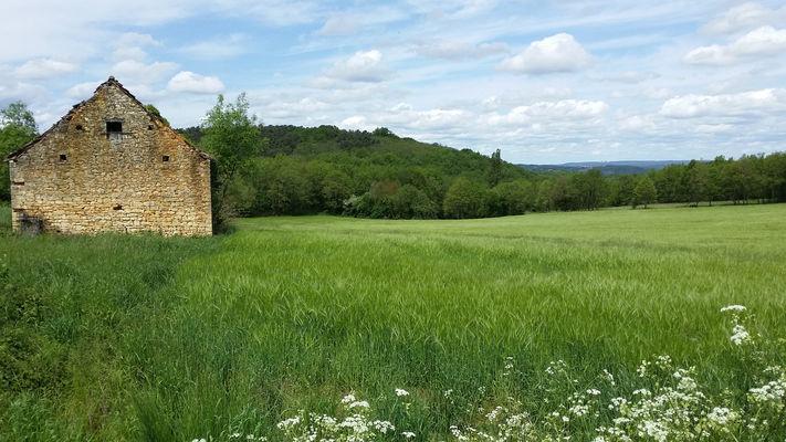08Courtès - ancienne grange   © Lot Tourisme - C. Sanchez