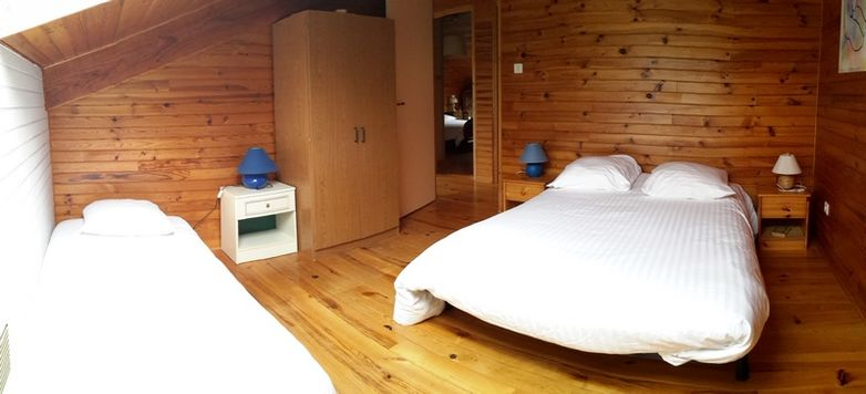 Chambre 4 - 1 lit en 140 et 1 lit 90