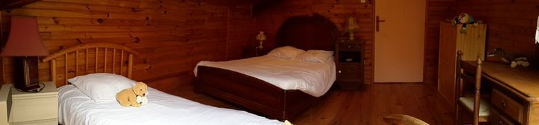 Chambre 5 - 1 lit en 140 et 1 lit 90