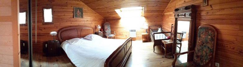 Chambre 2 - 1 lit en 160 et lit bébé
