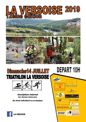 14 juillet La Versoise Triathlon