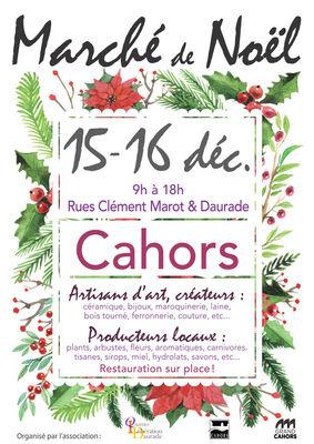 15-16 déc marché noel Cahors