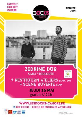 16 mai Les Docks ZEDRINE DUO