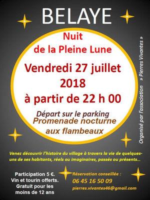 180727_Nuit de la Pleine Lune_Belaye_©Association Pierres Vivantes