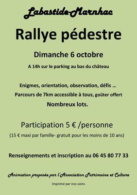 19.10.06 Rallye Labastide Marnhac