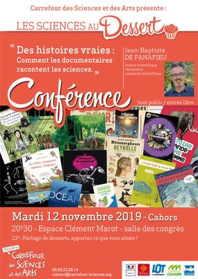 19.11.12 Conférence au Dessert Cahors