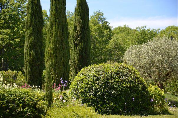 Gîte Durocher-St Denis les Martel-jardin