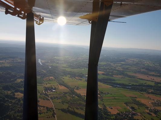 Baptême avion ULM Lot Cahors