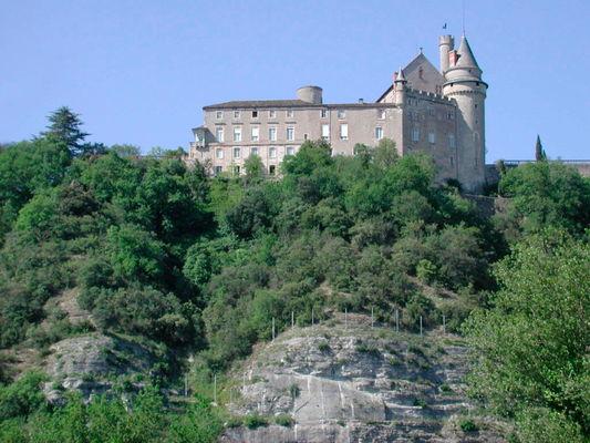 Mercues : Le Château de Mercuès