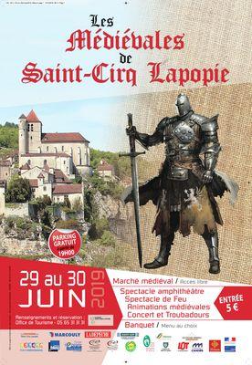 29 juin Médievales St Cirq