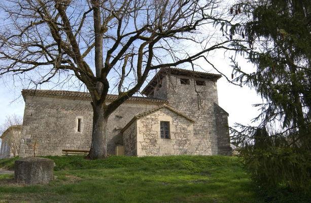 Sainte Alauzie : Château