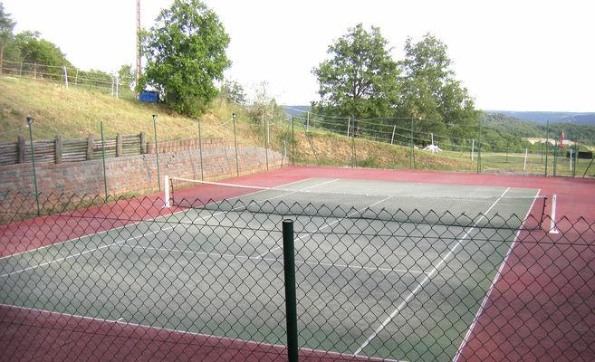 terrain de tennis monkey