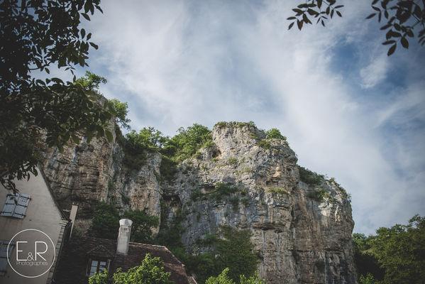vue sur les falaises de Gluges