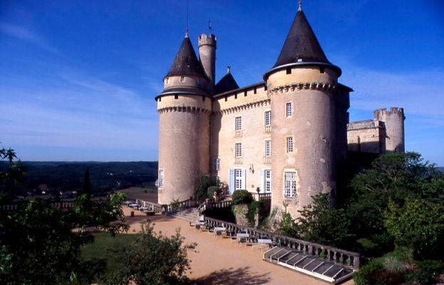 Mercuès : Le Château