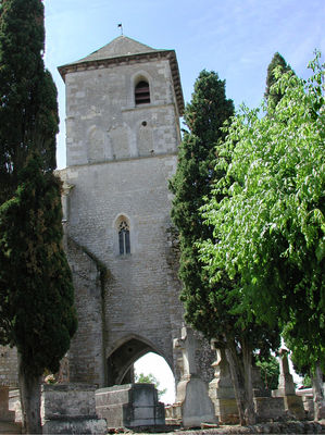 ADT - Eglise Puy-l'Evêque