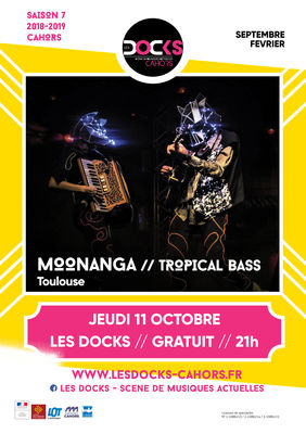 AFFICHE MOONANGA dock 11 oct