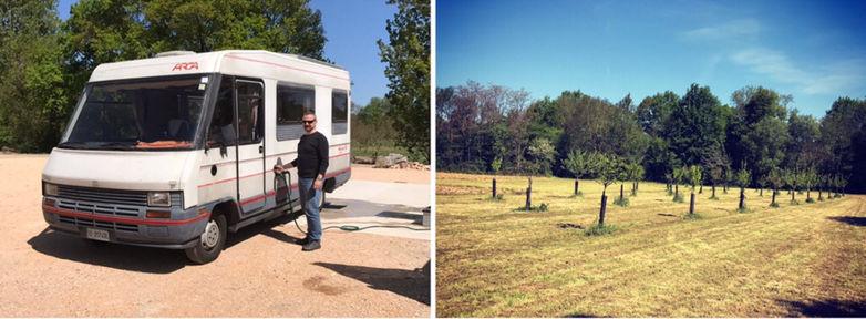 Aire de camping-cars-St Medard de Presque- services