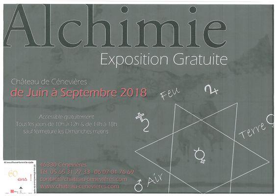 Alchimie - Expo - Cénevières
