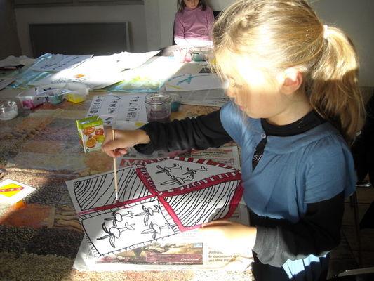 Atelier artistique pour enfants