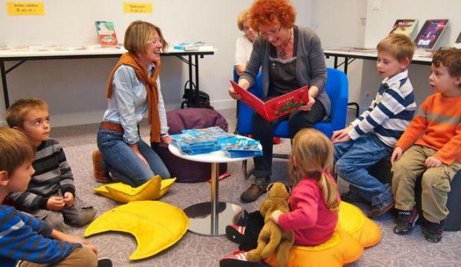 Atelier lecture enfants