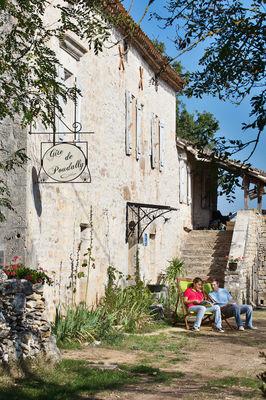 Au gite d'étape de Poudally © Lot Tourisme - P