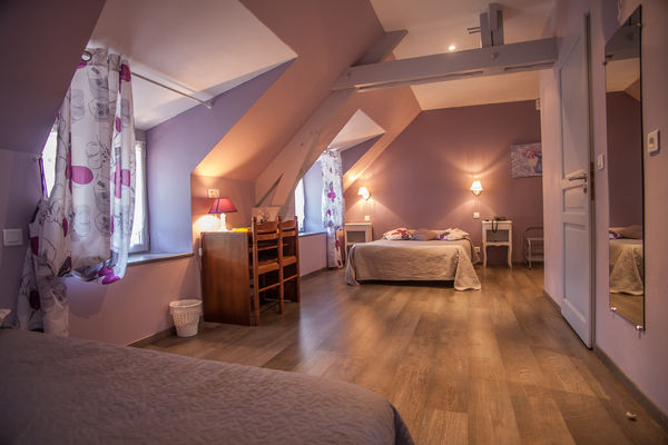 Auberge de Lile-creysse - Chambre