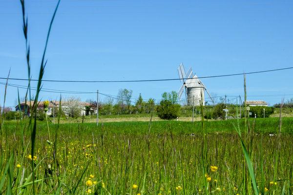 Boisse - Vue sur le moulin de Boisse © Lot Tourisme - C. Sanchez