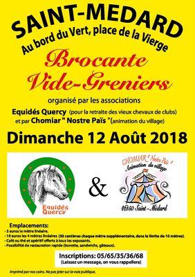 Brocante St medard 12082018