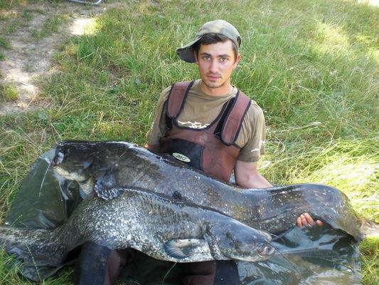 Bruno Mercier, guide pêche