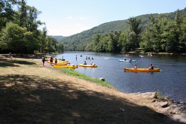 Camping-Le saulou-canoë
