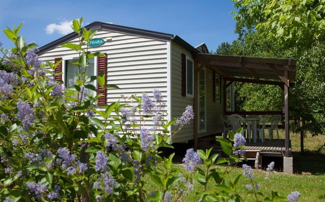 Camping eau Vive - Carennac - Mobilhome