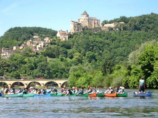 Canoe Dordogne 1