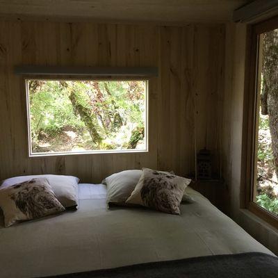 Cabane-Lodge - chambre