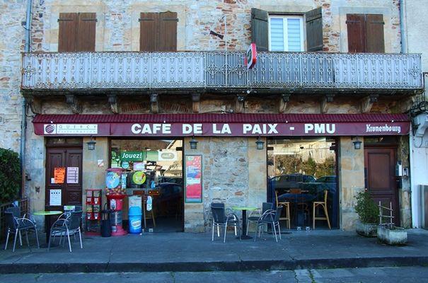 Café de la Paix Saint Céré