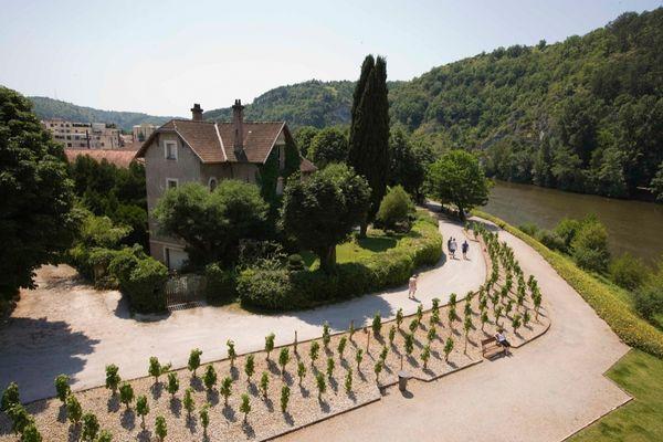 Cahors jardin d'Ivresse -Lot Tourisme - J. Morel