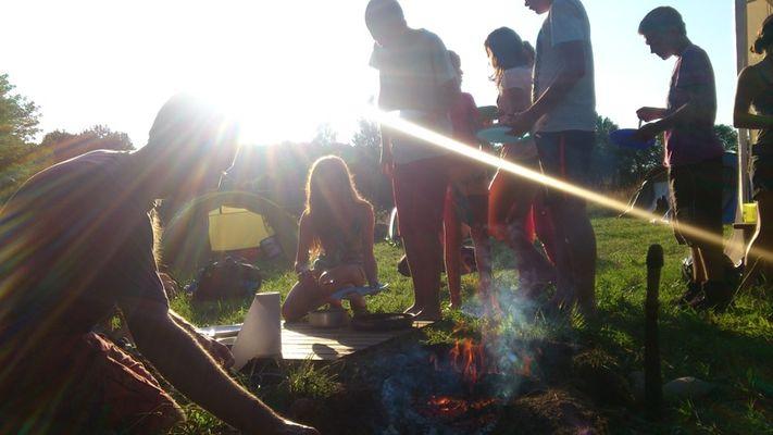 CaracoleNature_Soirée trappeur et repas au feu de bois