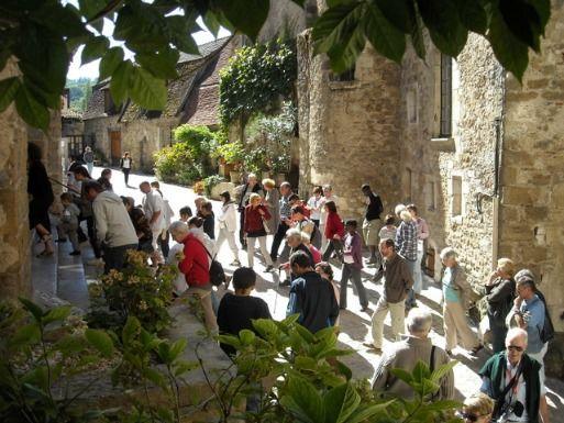 Carennac visite du prieuré