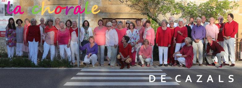 Chorale de Cazals logo 2017