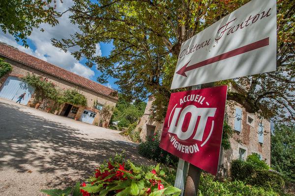 Château Fantou, accueill vigneron du Lot_02 © Lot Tourisme - C. ORY