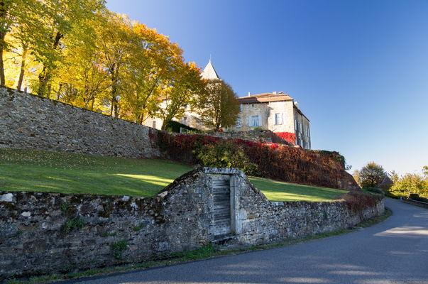 Béduer - Vue sur le Château