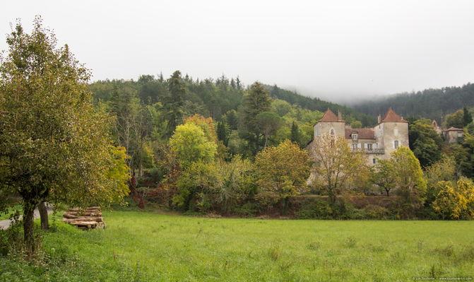 St Vincent Rive D'Olt - Château
