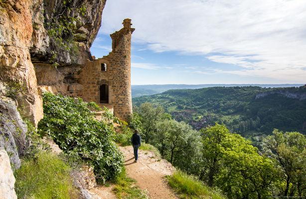 Autoire - Château des Anglais