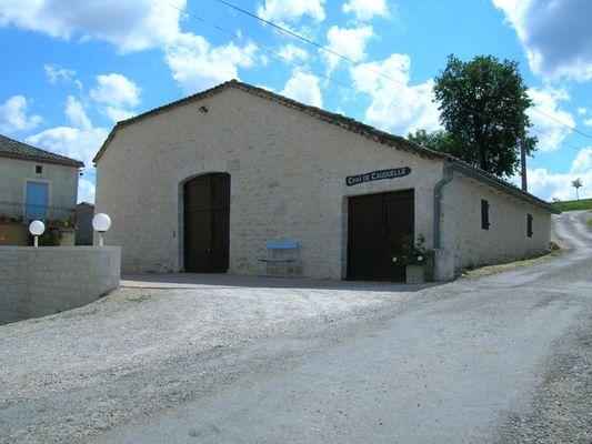 Chai Domaine de Cauquelle